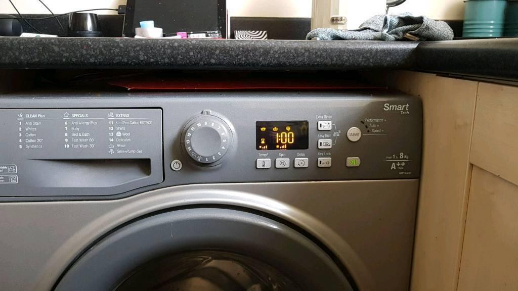 Washing machine 8kg AA+++ Smart tec