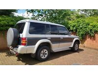 Mitsubishi pajero exceed 2.8 turbo diesel new engine only covered 70k great runner 4x4 £1100 ono