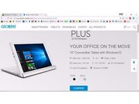Alcatel Plus 10 2in1 4G Windows 10 Tablet