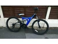 """Boys mountain bike 24"""" wheels"""