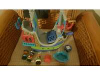 Happyland toy pirate ship