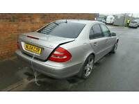 2004 MERCEDES E CLASS W211 BUMPER WING MIRROR LIGHT EXHAUST TURBO GEARBOX ALLOYS