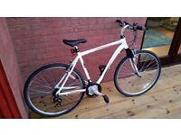 Mizani Zone HT 18 Inch Hybrid Frame Bike