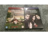 Vampire diaries season one and two