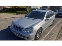 2005 Mercedes-Benz C180K Estate-Faulty-Needs new camshaft positioners