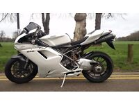 Ducati 848+Full re-spray + full Termignoni Exhaust+ECU+Ducati Performance Parts+Carbon Fibure + More