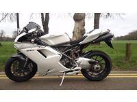 Ducati 848+Full re-spray + full Termignoni Exhaust+ECU+Ducati Performance Parts+Carbon Fibure + More