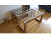 Glass coffee table Brand new. 2 available. CHEAP!!