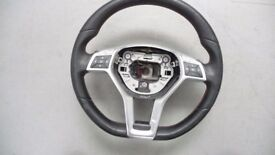 STEERING WHEEL AMG MERCEDES W204 CLS W218 W207 W246 W176 R231/NO AIR BAG
