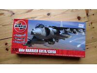 Airfix 1/72 Harrier GR7A/GR9A model kit, NEW