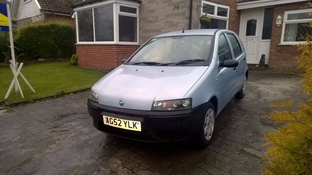 Fiat Punto 1.2 5 door 84,000 . 2003 cheap