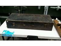 Antique carpenters tool box with full content (3)