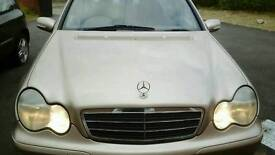2002 Mercedes Benz C180 Kompresser. AUTOMATIC.