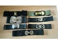Ladies belts £4 each