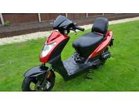 50cc kymco. Runs but needs work. Read notes please. Can deliver