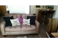 For sale two number 2 seater leather sofas