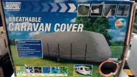 Caravan cover breathable MP9433 17-19ft long