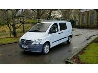 No vat 2012 Mercedes vito 113 cdi compact van low miles window cleaning