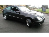 MERCEDES C0UPE AUTO C180 KPMPRESSOR 3 DOOR