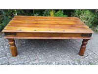 Large Rustic Coffee Table - DELIVERY AVAILABLE