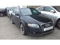 **FOR BREAKING** 2007 AUDI A4 S-LINE.