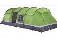 Kalahari elite 8 man tent WITH PORCH AND CARPET