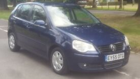 VW POLO 1.4 S AUTOMATIC 55PLATE 2005 LADY OWNED 112000 FULL SERVICE HISTORY AIRCON ALLOY 5DOORS