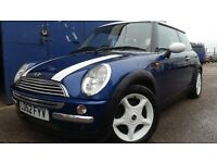 2002 MINI COOPER BLUE EXCELLENT CONDITION NEW MOT NEW CLUTCH KIT LOW MILEAGE