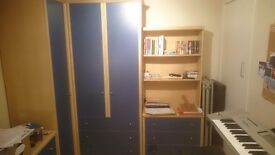 Wardrobe - Custom made corner combination set, great condition