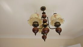 Antique style ceiling light