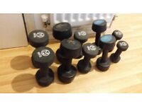 Dumbbells collection