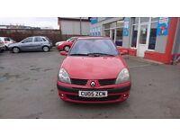 2005 Renault Clio 1.5 DCI, 130,000 miles, £30 per year tax, Excellent value.
