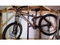 Kona Stinky Deluxe downhill mountain bike