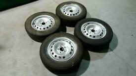 Vauxhall Vivaro 16inch steel rims for sale