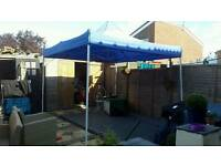 A heavy duty fully waterproofed and uv gazebo in brill condition