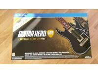 Guitar Hero Live set PS4
