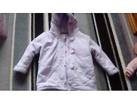 Girls coats 2-3 years, various