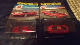 MODEL SUPERCAR COLLECTION ISSUES 38 AND 39