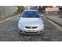 2006 Vauxhall Corsa 1.2 Silver 5dr hatchback Manual Petrol MOT Dec2017 full service history 2keys