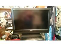 "Sony 36"" tv with remote"