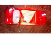 Hela rear light for caravan or motor home