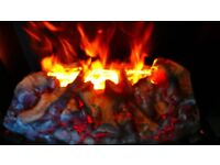 DIMPLEX DANVILLE BLACK OPTI-MYST ELECTRIC FIRE (SHOWROOM MODEL CLOSING DOWN) ONLY 1 LEFT
