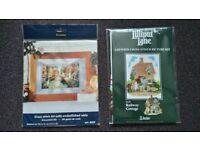 Lilliput Lane Cross Stitch Kit and Canal Scene Cross Stitch