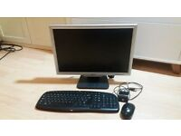 "Acer monitor 20 "" together with Wireless mouse and keyboard"