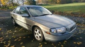 Volvo S80 2.4 D5 S 4dr, solid motor, 177 on clock spares or repairs