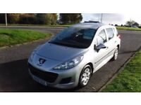 PEUGEOT 207 1.6 SW S HDI 2009,54,000mls,62mpg,£30 Road Tax,Full Service History,Very Clean Condition