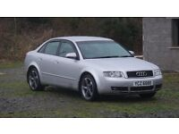 Well maintained, very clean 2004 Audi A4 SE 2 litre Petrol manual