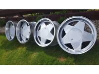 BORBET A 16's Staggered 5x100 J7.5 and J9 offset ET20 and ET15 VW VR6 ,SUBARU,TOYOTA