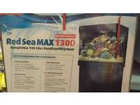 Red Sea Max 130d. Plug and play reef system