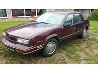 1990 Oldsmobile cutlass calais lhd left hand drive